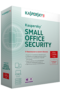 Kaspersky Small Office Security 3 for Computers, Mobiles and File Servers, 5ПК+5МУ+1Сервер